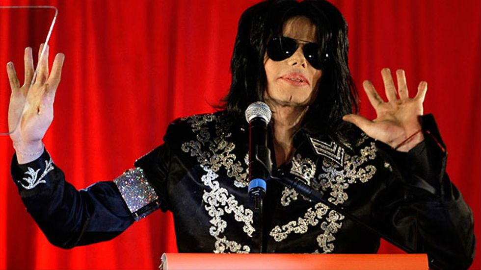 Michael Jackson i London.