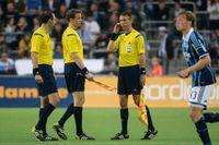 Jonas Eriksson, Daniel Wärnmark och Mathias Klasenius representerar Sverige i fotbolls-VM.