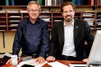 Hans Forssberg, professor i neurovetenskap och Sven Bölte, professor i barn- och ungdomspsykiatrisk vetenskap.