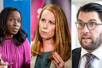 Liberalerna faller till 2,5 procent i SCB:s stora partisympatimätning.