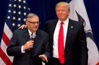 Joe Arpaio och Donald Trump