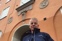 Kenneth Thool, en av murarna som utförde den omdiskuterade renoveringen.