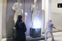 Islamiska staten angriper museet i Mosul. Foto: TT