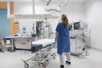 Karolinska universitetssjukhuset i Stockholm gör kraftigt förbättrat resultat. Arkivbild.