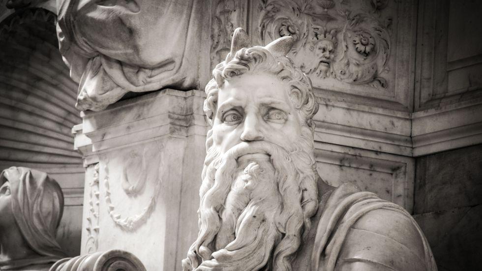 Michelangelos Moses.