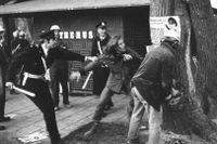Under almstriden i Stockholm 1971 demonstrerade människor mot planerna på att hugga ner almarna i Kungsträdgården. Två år senare kom en ny upplaga av Svenska Akademiens ordlista ut. Förstår du orden som rensades ut då?