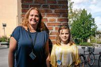 Juniorreportern Tilda, 12 år, intervjuade polisen Helene Lindström om grooming.