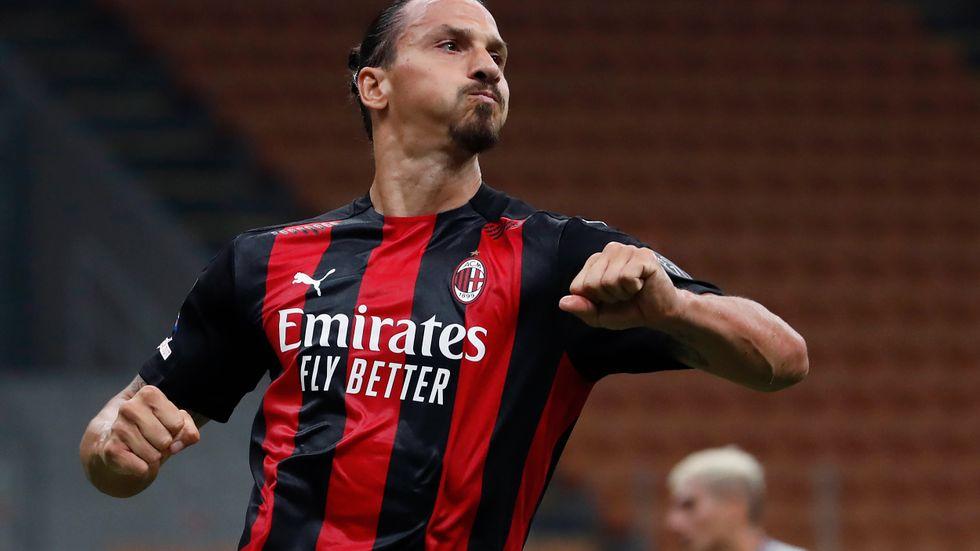 Zlatan Ibrahimovic och hans Milan får möta Celtic, Sparta Prag och franska Lille i Europa Leagues gruppspel i höst. Arkivbild.