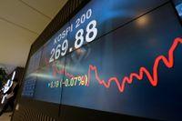 Börsen och valutamarknaden har varit skakig veckorna före mellanårsvalet. Arkivbild