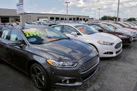Prislyft på nya och begagnade bilar har bidragit till att lyfta inflationen i USA till nivåer långt över inflationsmålet på 2 procent. Arkivbild