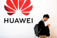 Kinesiska Huawei hotas av amerikanska sanktioner.