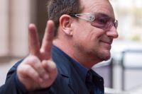 U2:s sångare Bono.