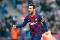 Lionel Messi, fyramålsskytt.