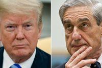 Donald Trump och Robert Mueller.