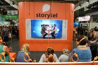 Författarsamtal hos Storytel på Bokmässan 2016. Arkivbild.