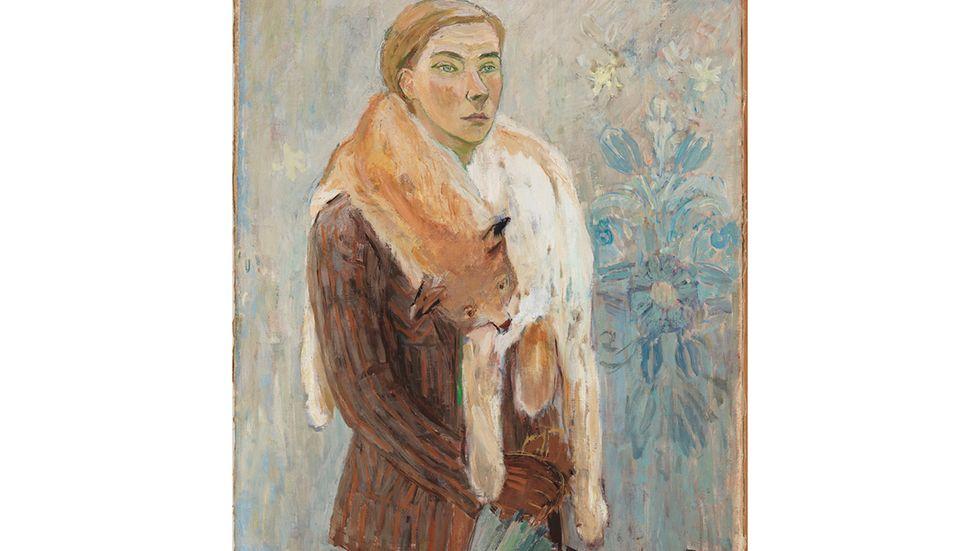"""Tove Jansson , """"Loboan"""" (Självporträtt), 1942."""
