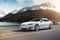 Tesla sänker nu priset på sin Model S-bil. Arkivbild.