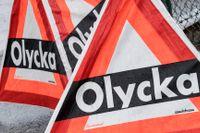 En man har omkommit i samband med en olycka på E20 mellan Nossebro och Vara.