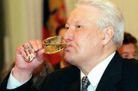 Boris Jeltsins drickande oroade brittiska regeringen. Arkkivbild.