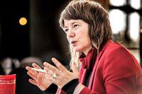 Europaparlamentariker Malin Björk (V).