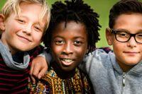 Fabian Fahlstedt, Angelo Kwiek och Marx Mukaru är alla 10 år och går i klass 4A i Skarpatorpsskolan i Skarpnäck, Stockholm.