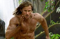 """Samuel L Jackson och Alexander Skarsgård i """"Legenden om Tarzan."""""""