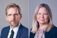 Jakob Forssmed och Sofia Damm.