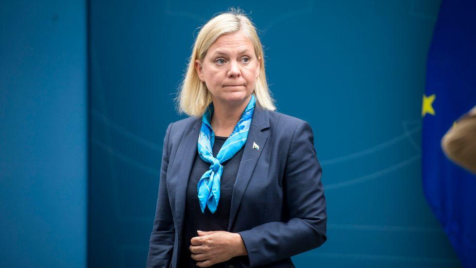 Finansminister Magdalena Andersson (S) öppnar mer pengar till Åklagarmyndigheten – om behovet finns. Arkivbild.
