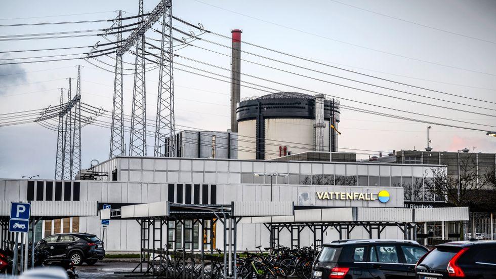 Ringhals kärnkraftverk. Arkivbild.