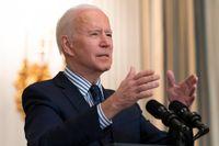 USA:s president Joe Biden. Arkivbild.