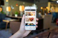 Ny app för restaurangmat för hemleverans.