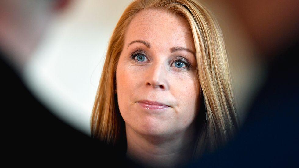 Annie Lööf är redo att ingå i en S-regering efter valet.