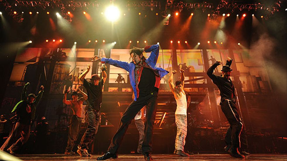 Michael Jackson i This is it.