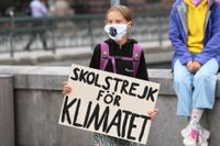 Klimataktivisten Greta Thunberg är gästande chefredaktör för söndagens DN. Arkivbild.