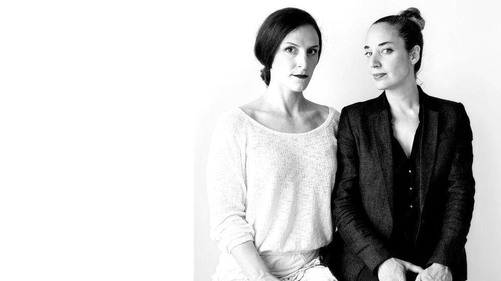 Nina Gorfer och Sarah Cooper.