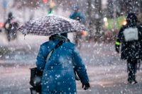SMHI har utfärdat en klass 1-varning för snöfall i sydöstra delarna av Sverige. Arkivbild.