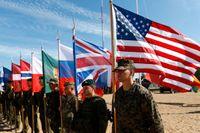 Natoländerna i Baltikum får förstärkningar mot hotet från Ryssland, här från övningen Saber Strike 2015.