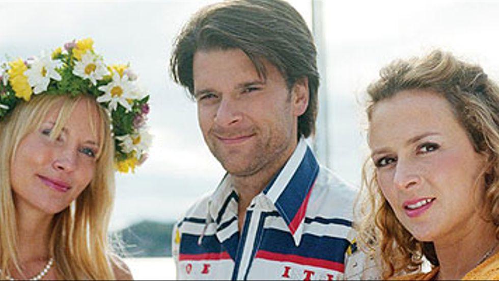 Moa Gammel, Peter Magnusson och Mirja Turestedt.