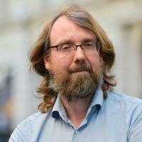 Andreas Johansson-Heinö, statsvetare, författare, förläggare.