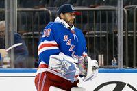Henrik Lundqvist kan ha spelat klart i New York Rangers. Arkivbild.