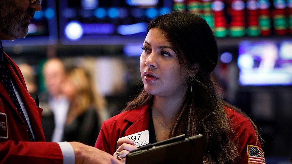 I USA slår amerikanska index nya toppnoteringar.