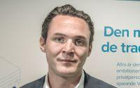 Alexander Ernstberger, vd för pensionsbolaget Allra.
