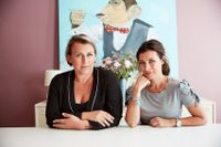 Systrarna Hannah Widell och Amanda Schulman är grundare av mediebolaget Perfect Day Media.