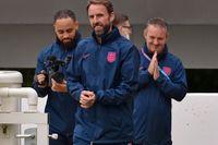 Förbundskapten Gareth Southgate i samband med Englands träning på St George's Park, Burton upon Trent.