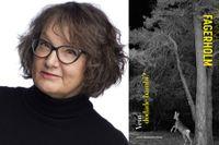"""Monika Fagerholm (född 1961 i Helsingfors)  debuterade 1994 med """"Underbara kvinnor vid vatten""""."""