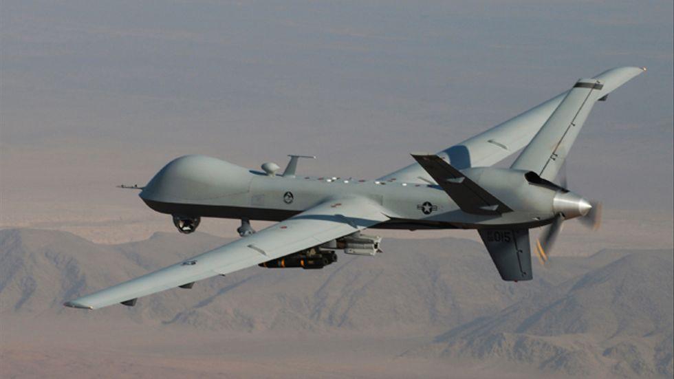 Amerikanska MQ-9 Reaper i Afghanistan.