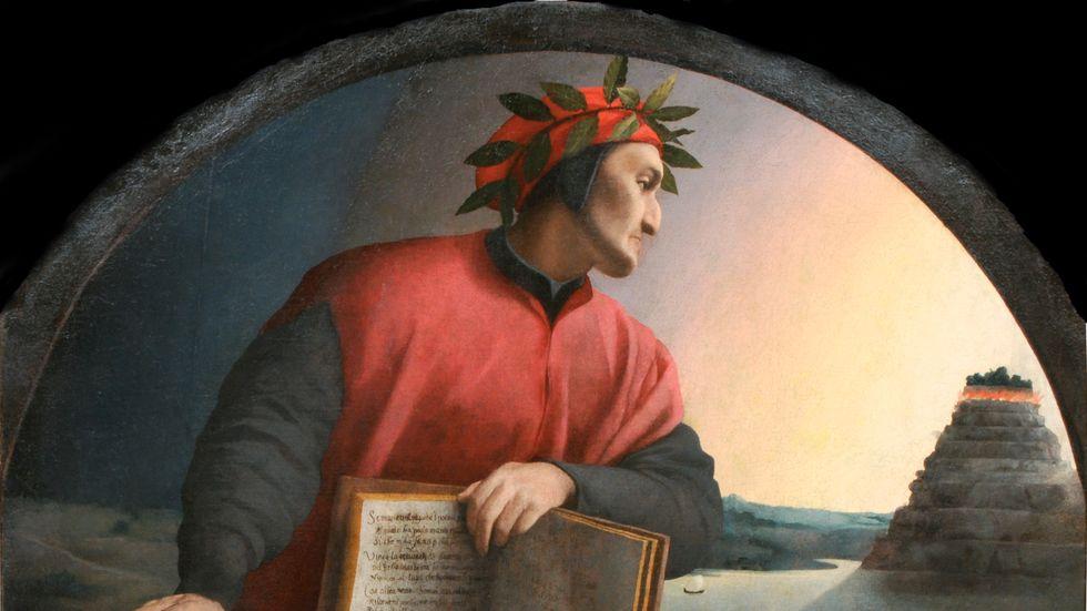 I dagarna för 700 år sedan (13 eller 14 september 1321) dog Dante i Ravenna.