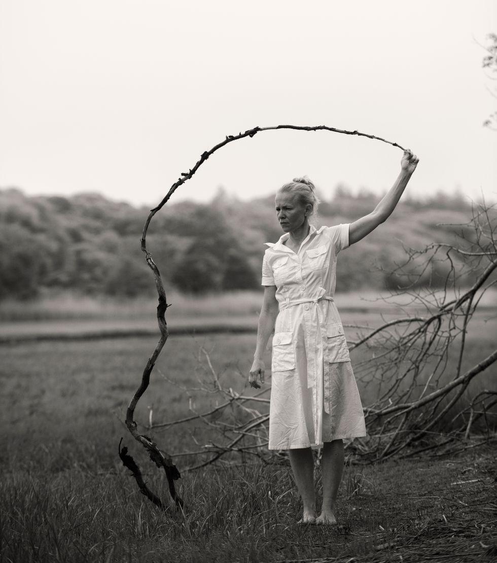 """Helena Franzén, sammanfattar sin 30-åriga karriär i """"Mitt dansande liv"""" på Dansmuseet i Stockholm."""