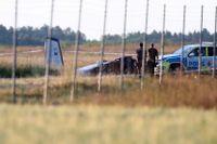 Nio personer döda i flygkraschen i Örebro