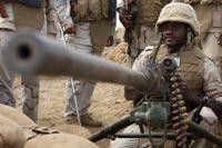 Saudiska soldater.